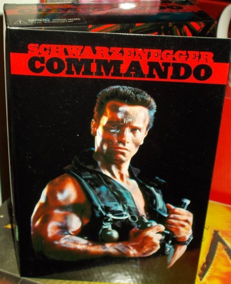 Figurine Arnold Schwarzenegger du film Commando