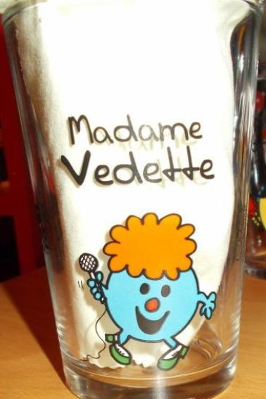 Verres Monsieur Madame Bonhomme Partie 1