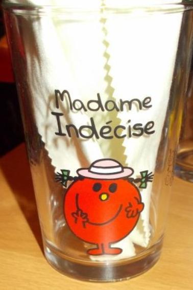 Verres Monsieur Madame Bonhomme Partie 2