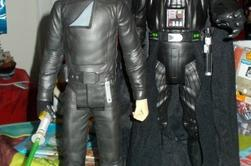 Figurines Star War  Dark Vador et Luke Skywalker 50cm