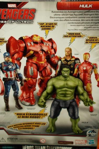 Figurine Hulk et Hulkbuster