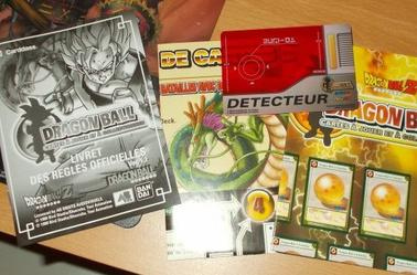 Dragon Ball carte à collectionner