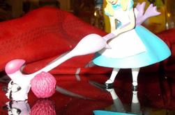 Figurine résine Disney : Le livre de la jungle , Bernard et Blanca , Alice aux pays des merveilles