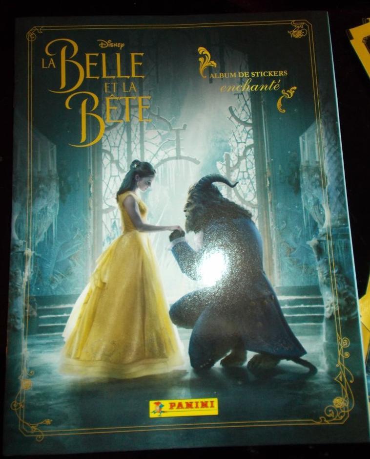 Album panini La belle et la bête