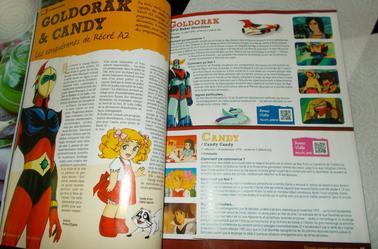 Excellent magazine : Les dessin animés de notre enfance