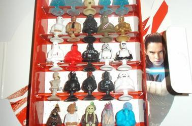 Star Wars Coffret micro Popz complet