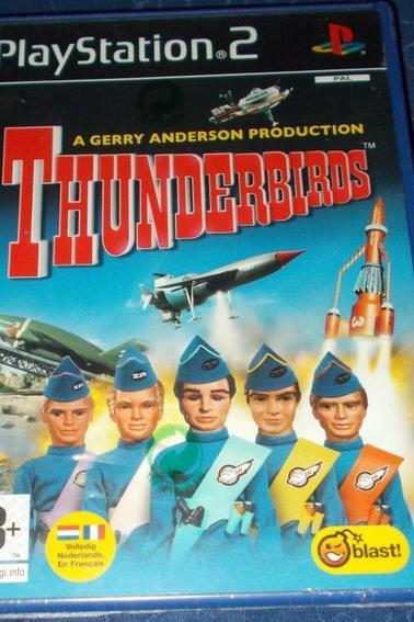 Jeu vidéo PS2  Thunderbirds