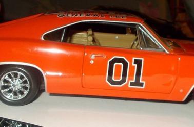 Dodge Charger 1969 - 1/18 (Shérif, fais-moi peur)