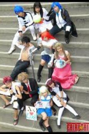 Cosplays de mon mangas préféré Fairy tail♥ (7)