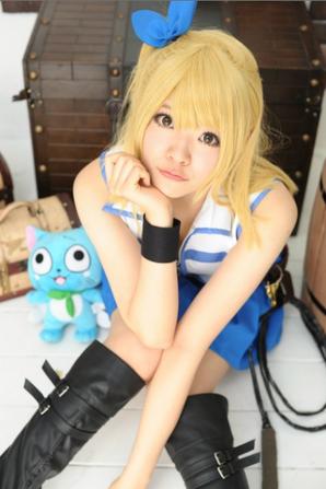 Cosplays de mon mangas préféré Fairy tail♥ (8)