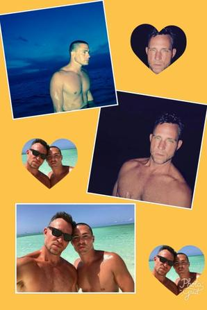 Montage photo @coltonlhaynes @jeffleatham