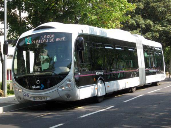 Interdiction de polluer l'aire de tous les bus du réseau stan