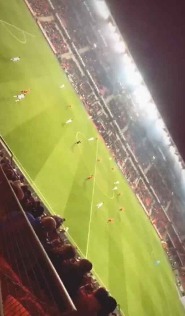 Marine Capon au Match Rennes Amien