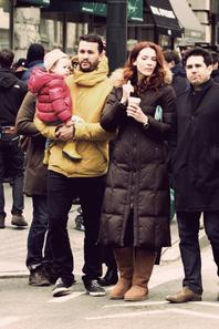 Serie ♥ Murder In Manhattan  Bridget a tourné dans le Pilot de la série Murder In Manhattan, malheureusement la série n'aura pas été retenue par la chaîne. Les photos ont été prises sur le tournage.