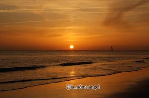 coucher de soleil saint palais sur mer