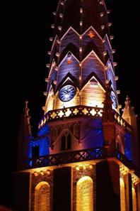 L'église d'ars en ré jour et nuit l'île de ré