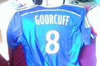 Mes Maillot de l'Olympique Lyonnais ( Grenier et Gourcuff )