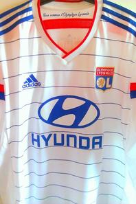 Suite Maillot de l'Olympique Lyonnais