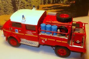 miniature pompier