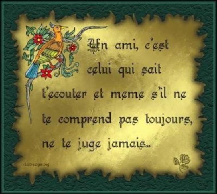 BONJOUR LES AMIS, TOUJOURS EN PLEIN EMMÉNAGEMENT...