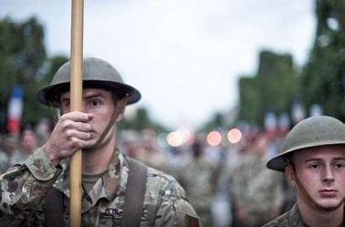 les americain debarque pour le 14 juillet 1917 2017