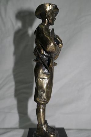 Statuette de chaseur Alpin
