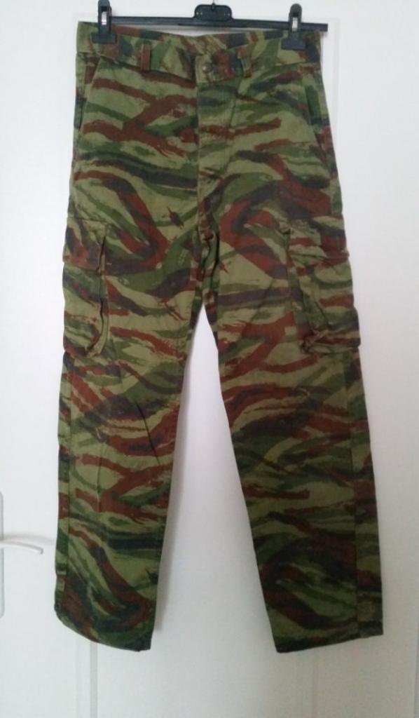 pantalon de la guerre d'algérie