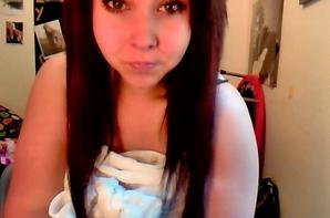 Cheveux brun. No hate <3