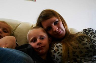 Moi et mes petits cousin Evan et Enzo