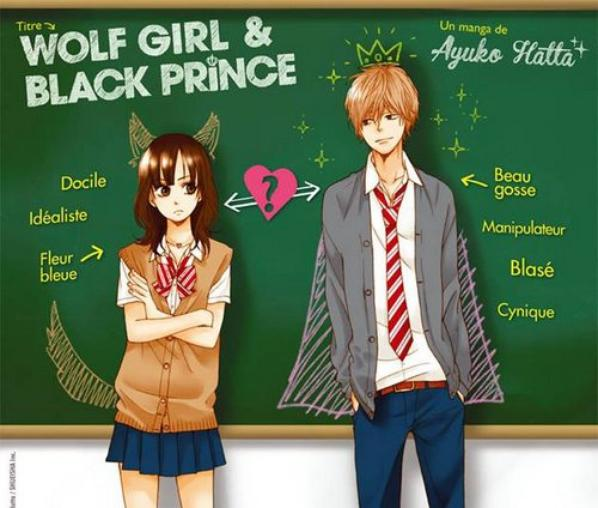 Wolf girl ans black prince