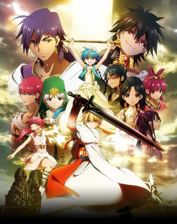 Magi, the labyrinthe of magic / Magi, the kingdom of magic .