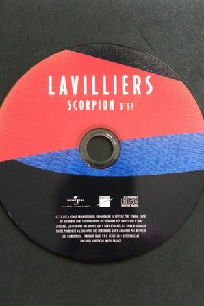 "VOICI LE RARE CD PROMO ""SCORPION"""