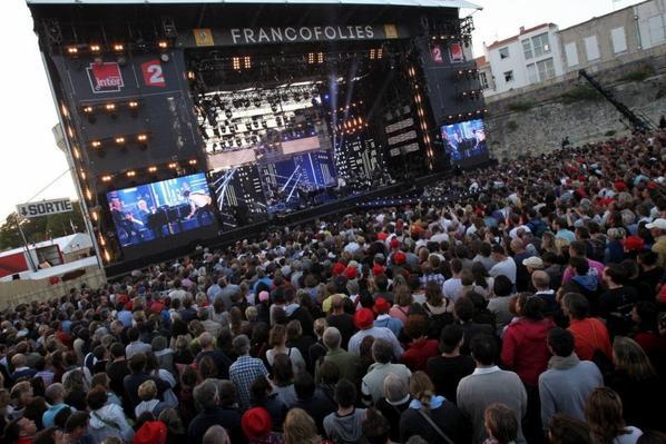 jacques higelin aux francofolies concert des 30 ans