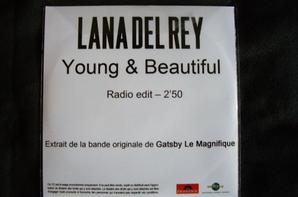 Young & Beautiful ~ CD promo monotitre français