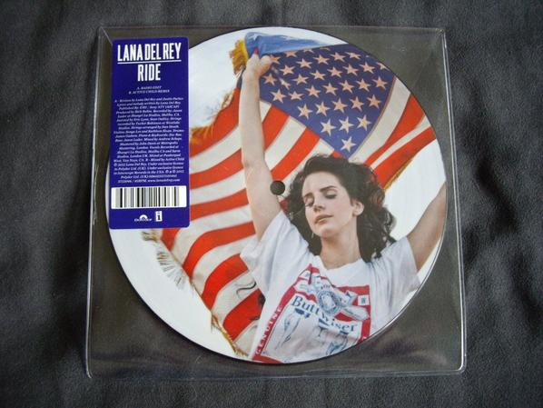 Ride ~ 45 tours picture disc