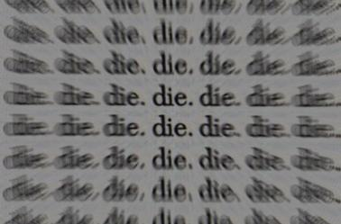 je veux mourrir...