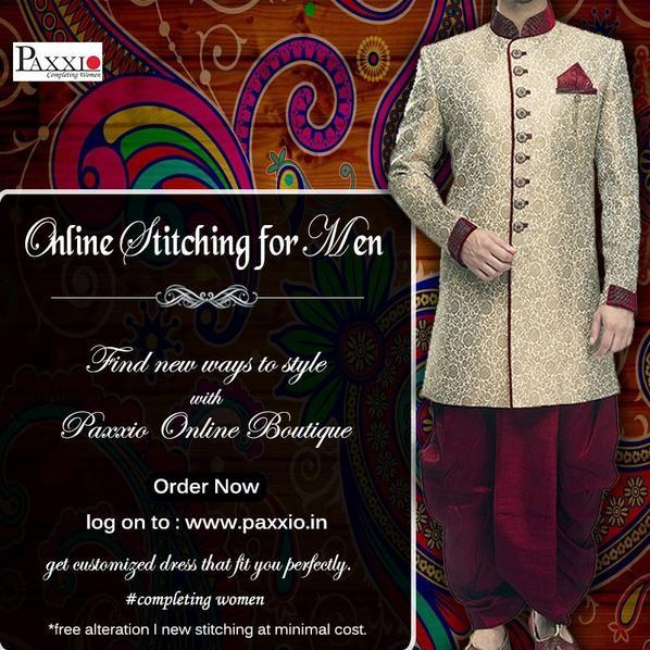 Online #stitching for men & women.
