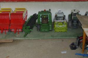 La ferme et son matériel