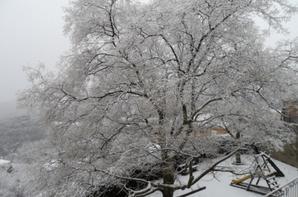Prats sous la neige en février 2015