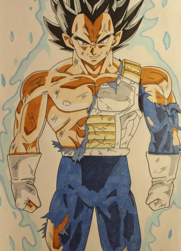 Vegeta Ultra instinct -  Dragon Ball.