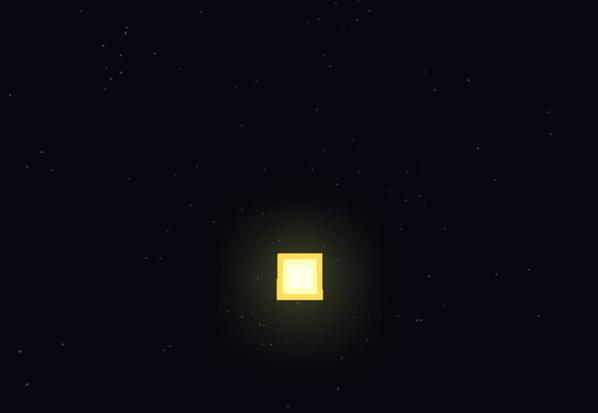 l'espace dans minecraft