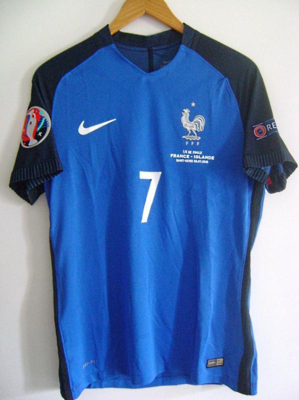 Antoine Griezmann Euro 2016  FRANCE ISLANDE