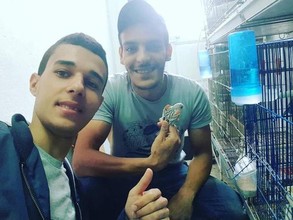 Visite chez Hamza Cherif