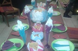 décoration de table d 'anniversaire