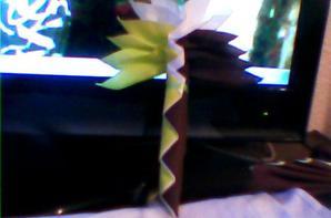 voici mon création de palmier a 3 couleur