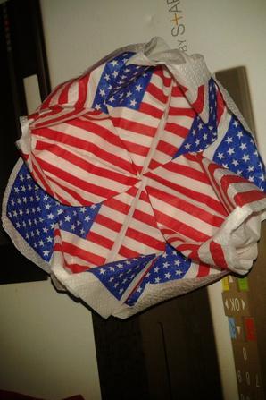 nouveaux réalisation avec des serviette Amérique