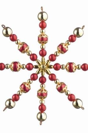étoile en perle