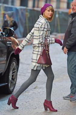 Taylor Swift's Outfits for winter ! :)