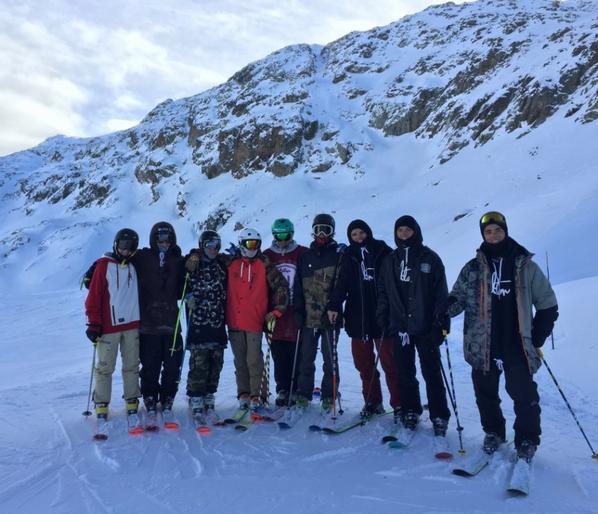 Reprise du ski au 2 alpes.