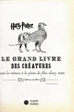 SURPRISE! Harry Potter Le Grand Livre Des Créatures